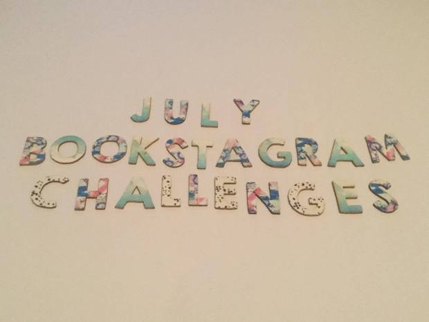 july bookstagram challenges