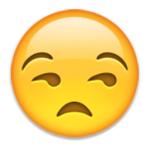 emoji annoyed