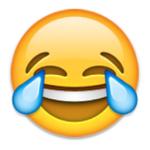 emoji smile tears