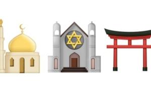 emoji temple